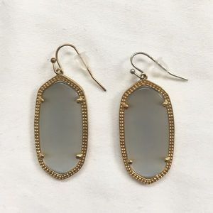 Kendra Scott Jewelry - Kendra Scott Elle Earring in Slate Cat's Eye